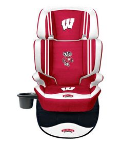 Red Wisconsin Badgers Seat Protector