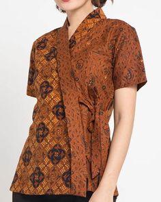 Blouse Batik, Batik Dress, Batik Fashion, Hijab Fashion, Hijab Style Dress, Batik Kebaya, Kebaya Muslim, Nice Dresses, Girl Outfits