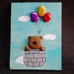 #tasboyama #pebblepainting #pebbleart #pebbles #oso #bear #animalart #color #animal #paintedrocks #painted #artisan #paintingstone #rockpainted #rockart #stonespainting #hechoamano #posca #poscaart #acrilico #handcraft #handmade #manualidades