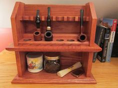 Craftsman Style Cottage Pipe Rack Plans