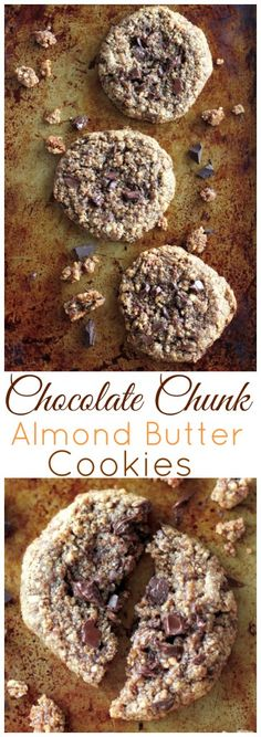 Soft, chewy, and loaded with TONS of chocolate chunks… these flourless almond butter cookies are sure to be a new favorite in your home! Warning: These are VERY addicting. Grab your milk chaser now 😉 Hi friends! I'm making good on my promise today. A promise I made to myself. A promise to find you the …