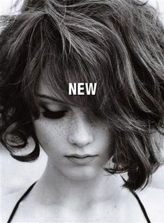 Hair and freckles. Ellen Von Unwerth