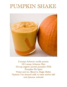 Yummy fall pea protein Arbonne shake.    If interested in Arbonne contact me today www.laylakelling.arbonne.com