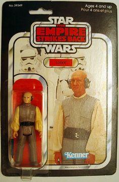 Lobot original action figure #lobot #star #wars