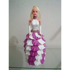 Bonecas Barbie Em Eva - R$ 35,00
