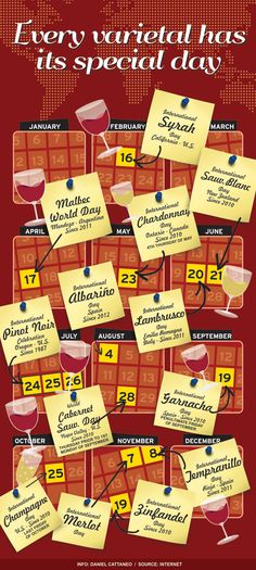 Wine Calendar!  Who knew?