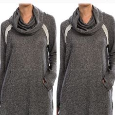 Brandi cowl neck Knit sweater with cowl neckline. Lewboutiquetwo Tops