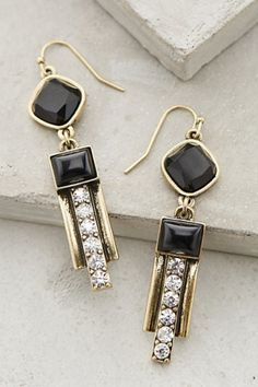 Jeweled Deco Drops from Anthropologie