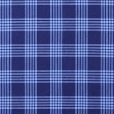 Checked Cotton Shirting – navy blue/light blue - Cotton Fabricsfavorable buying at our shop Tartan, Weaving Art, Haberdashery, Bleu Marine, Sewing Projects, Light Blue, Navy Blue, Vogue, Couture