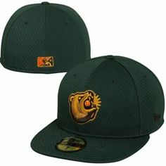 New Era Fresno Grizzlies Minor League 59FIFTY Fitted Hat - Green