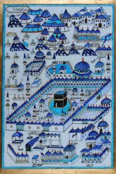 Islamic Wallpaper, Arabic Art, Turkish Art, Islamic Architecture, Mecca, Illuminated Manuscript, Islamic Art, Ancient History, City Photo