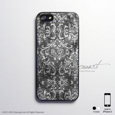 iPhone 5 case, iPhone 5 cover, case for iPhone 5, vintage floral pattern S392. $18.99, via Etsy.