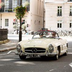 DRIVING BENZES — Mercedes-Benz 190SL (Instagram @alexpenfold)