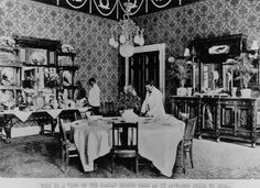 The Family Dining Room, 1900 (McKinley)