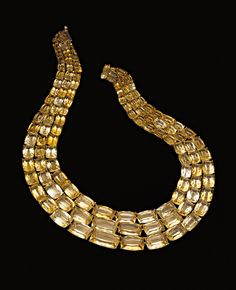 H.Stern Sunrise necklace in 18K yellow gold with citrines