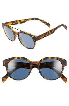 Italia Independent 50mm Retro Sunglasses