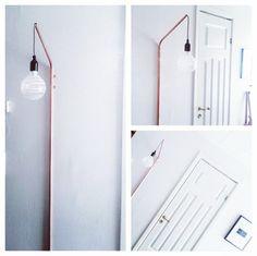 Diy - lampe af kobberrør