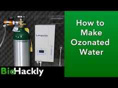 In this video I demonstrate how I setup my Longevity Ultra Ozone Generator to make Ozonated water for drinking and cleaning vegetables. Ozone Therapy, Ozone Generator, National Laboratory, Digital Timer, Glass Containers, Drip Coffee Maker, Cleaning, Pure Products, Water