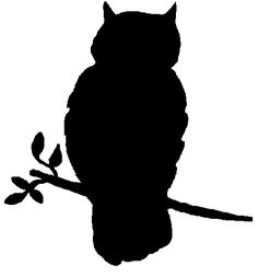 Owl Silhouette for wall finish Owl Silhouette, Silhouette Images, Silhouette Projects, Silhouette Machine, Halloween Owl, Halloween Crafts, Halloween Window, Halloween Silhouettes, Wood Burning Patterns
