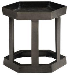 Hexagon Chairside Table | Bernhardt