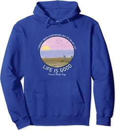 Amazon.com: Life Is Really Good Summer Beach Vacation Graphic Pullover Hoodie : Clothing, Shoes & Jewelry Graphic Tees, Graphic Sweatshirt, Beach Outfits, Hoodies, Sweatshirts, Summer Beach, Fashion Brands, Mens Fashion, Vacation