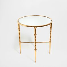 Zara home.  TABLE WITH TWISTED LEGS.