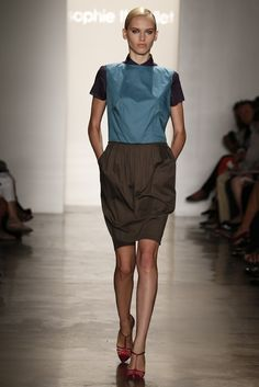 Sophie Theallet RTW Spring 2013 - Runway, Fashion Week, Reviews and Slideshows - WWD.com
