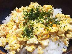 簡単!豆腐そぼろ丼の画像