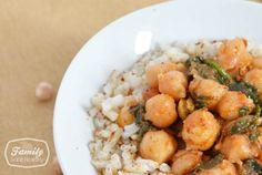 Recipe: Chickpea and Spinach Curry - Family Gone Healthy | Family Gone Healthy