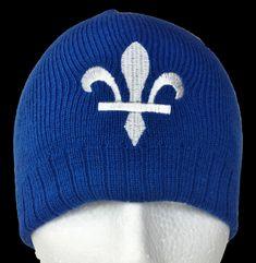 Quebec Canada Tuque Beanie Winter Ski Hat Fleur De Lys Chapeu D'hiver Cool Belt Buckles, Cotton Beanie, Ski Hats, Love Hat, Fashion Belts, Winter Accessories, Beanie Hats, Caps Hats, Baseball Cap