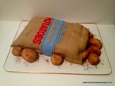 Potato Sack Cake - Kyrsten's Sweet Designs | Specialty Cakes and Cookie Favors