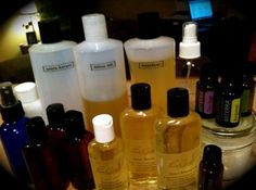 Massage Oil Recipes