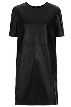 Topshop Leather dress