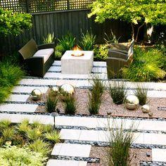 Idées d\'aménagement jardin sans entretien -conseils utiles   Originals