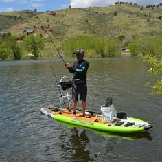 how to fly fish #flyfishingbasics Fish Stand, Stand Up, Sup Fishing, Fishing Boats, Fly Fishing Basics, Inflatable Sup, Kayak Accessories, Standup Paddle Board, Sup Surf