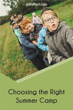 """The goal of camps is a good summer for your family, not a """"better"""" summer than anyone else. Avoid the comparison game – whether it's number of camps, costs of camps or accelerating in a sport or talent. Our guide will help you do just that, so you can choose the right summer camp for your kids."""
