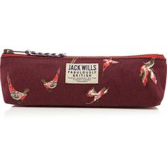 Jack Wills Galsford Pencil Case (€8,53) ❤ liked on Polyvore featuring home, home decor, office accessories, bags, school, jack wills, zip pencil case, zipper pencil case, floral pencil pouch and floral pencil case