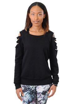 Laser Cut Sweatshirt