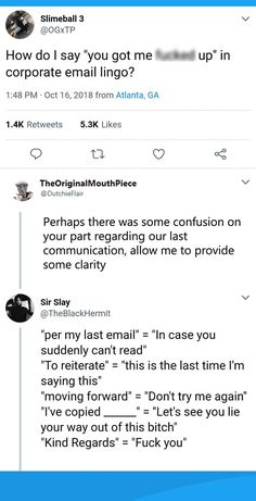 """""""How do you say """"you got me fucked up"""" in corporate email lingo? College Life Hacks, Life Hacks For School, Email Writing, Writing Tips, Work Memes, Work Humor, Job Help, Job Interview Tips, Job Resume"""