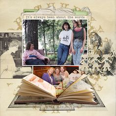 Scrapbooking Ideas for Visual Storytelling with the Allegorist Story Style | Debbie Hodge | Get It Scrapped
