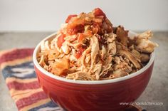 Sunday Slow Cooker:  Chicken Tinga