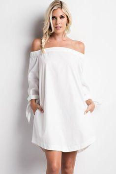 Alexa Off Shoulder Dress - MOD&SOUL Fashion Clothing and Jewelry  - 1