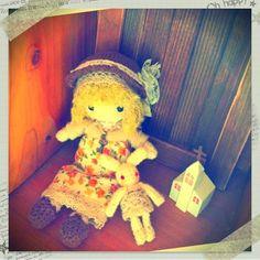ami doll & mini usa by cotorino kotoka #amigurumi