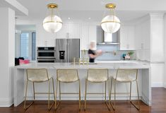 Luxury Kitchen Design by Amanda Forrest Design Toronto
