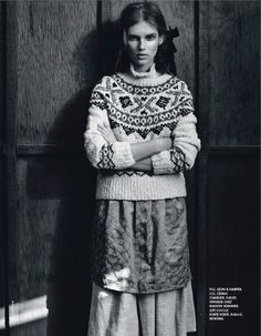 visual optimism; fashion editorials, shows, campaigns & more!: la fille de l'ouest: giedre dukauskaite by nicolas moore for elle france 10th january 2014