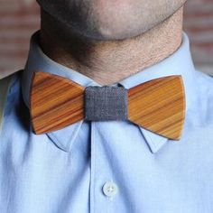 Harry Wooden Bow Tie, $42, now featured on Fab made in Tulsa.