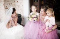 I heart little girls in tulle! Style Me Pretty | Gallery | #8283