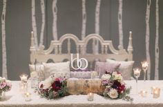 winter inspired wedding with Blush Botanicals and Couture Events!   photo by Bryan Miller Photography