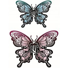 42dd1fc77 Yeeech Temporary Tattoos Sticker Sexy Products Butterfly Designs for Women  Waterproof -- Click image to