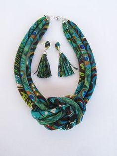 Items similar to Africa tassel earrings / long fabric earrings /fringe earrings on Etsy Fabric Earrings, Fabric Beads, Fringe Earrings, African Earrings, African Jewelry, Textile Jewelry, Fabric Jewelry, Jewellery, Colar Tribal
